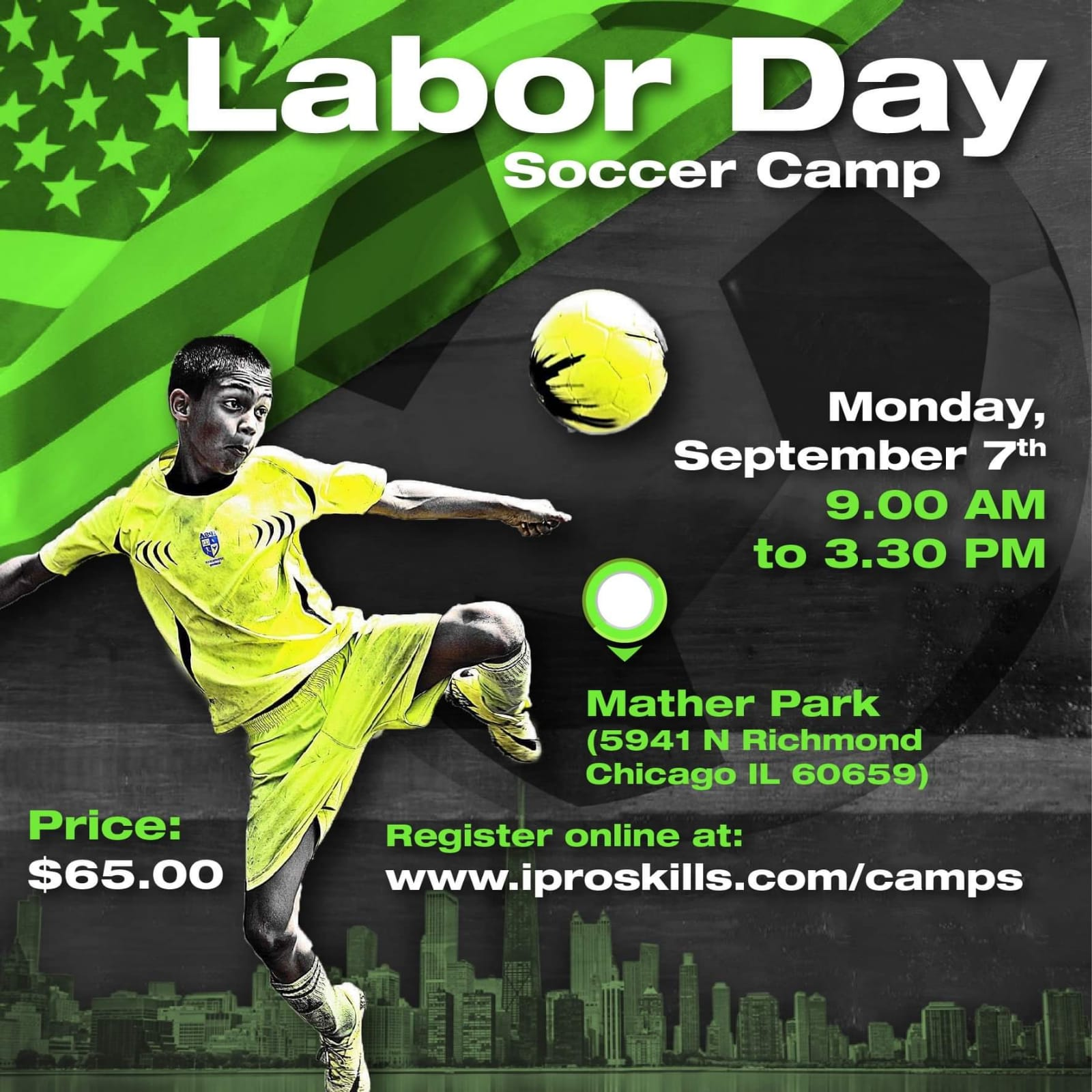 Labor Day Soccer Camp 2020