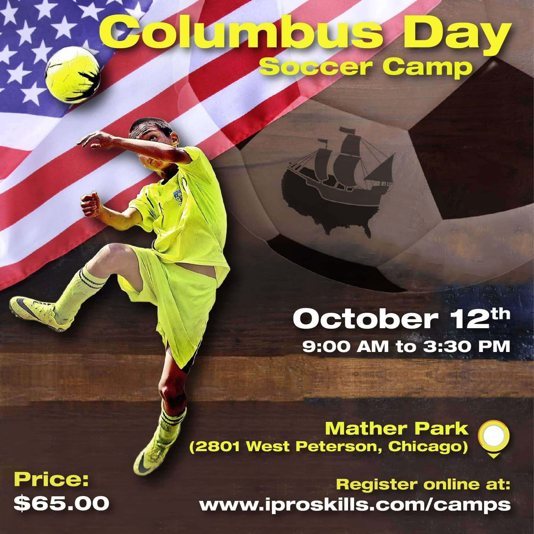 Soccer Camp Columbus Day 2020